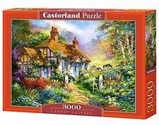 Joli Puzzle Cabane dans Les Bois 3000 Pièces Castorland