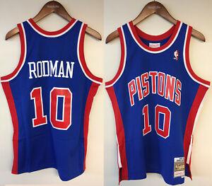 Dennis Rodman Detroit Pistons Mitchell & Ness NBA Authentic Jersey 1988-1989