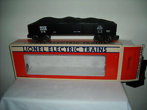 LIONEL #6209 NEW YORK CENTRAL GONDOLA WITH COAL LOAD