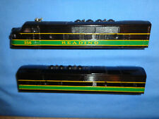 Lionel Postwar #2243 Customized Reading F3 AB Diesel Locomotive Shell's