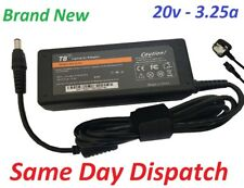 Advent 9215 Adapter Charger power Supply 20v 3.25a Model 0335C2065