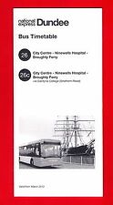 Bus Timetable Leaflet ~ National Express Dundee: 26 City to Broughty Ferry: 2012