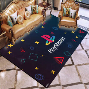 3D Gamer Video Games Black Rug PlayStation Doormat Door Floor Mat NEW Carpet