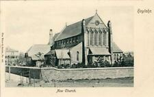 PRINTED POSTCARD OF THE NEW CHURCH, HOYLAKE, (NEAR LIVERPOOL) BY CHESHIRE WRENCH