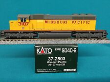 37-2803 Kato HO Scale SD40-2 Missouri Pacific Engine NIB