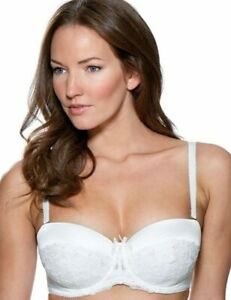 Charnos Belle Ivory Bridal Underwired Multiway Padded Plunge Bra