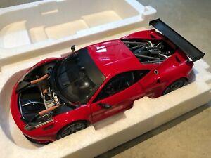 Ferrari 458 Italia GT2 Presentation 2011 Hot Wheels Elite 1/18