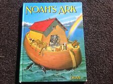 Noah's Ark Story Large Book vintage 1985 Dean illustrated J B Long