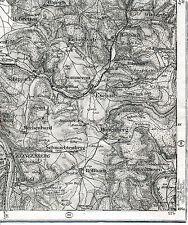 Klingenberg Schippach Hobbach 1886 1906 Teilkarte/Ln. Eschau Mönchberg Röllbach