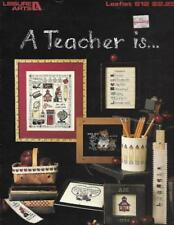 A Teacher Is... for Counted Cross Stitch Leisure Arts 612 Teacher Gifts to Make