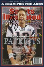 Tom Brady Sports Illustrated Autograph Poster New England Patriots 2004 Champs!