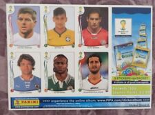 World Cup Football Trading Cards Lot Season 2014