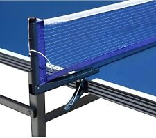 Hathaway Deluxe Table Tennis EZ Clamp Clip-On Posts and Net Set
