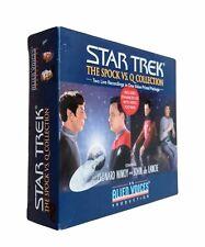 Star Trek Alien Voices Spock vs. Q COLLECTION Audio 3 CD Disc & Video BOX SET