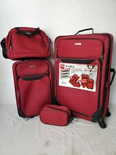 $200 TAG Travel-Collection Springfield III 4 Piece Suitcase Luggage Set Spinner