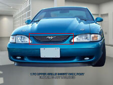 94-98 Ford Mustang Billet Grille Grill (Emblem is not included) Fedar