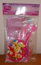 New Hallmark Disney Princess Party Favor Pack 20 pcs. Wands Rings Stickers etc.