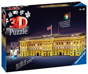 Ravensburger 3D Puzzle - Buckingham Palace Night Edition 12529