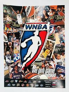 "Vintage WNBA 2000 Phoenix All-Star Poster ""We Got Game"""