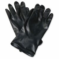North Butyl Chemical Protection Gloves - 9 - Water Resistant, Durable, Chemical