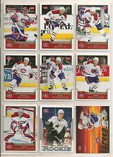 2006-07 Fleer Montreal Canadiens Team Set (8) Plus Speed Machines Kovalev