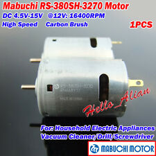 MABUCHI RS-380SH-3270 DC5V-12V 6V 16400RPM High Speed Carbon Brush Mini DC Motor