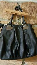 Aldo purse black leather shoulder bag