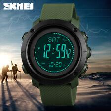SKMEI Altimeter Barometer Men Sports Digital Wrist Watch Climbing Hiking 1427 5