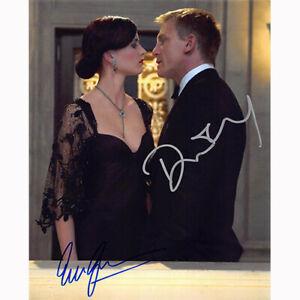 Daniel Craig & Eva Green - James Bond (84329) Autographed In Person 8x10 w/ COA