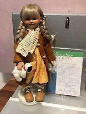Gabriele Müller Porzellan Puppe Lara 28,5 cm. Top Zustand