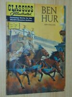 Classics Illustrated #59. Ben Hur Aust/UK Edition 2 shillings , HRN 129, VG/F5.0