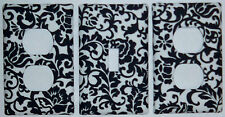 Damask Scroll switch plate/outlet covers