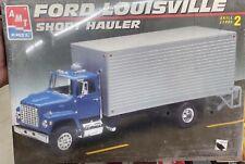 AMT 6460 FORD LOUISVILLE BOX TRUCK SHORT HAULER KIT 1/25 McM Fs