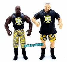 USED DUDLEY BOYZ D-VON BUBBA RAY TEAM 3D - WWE Jakks Ruthless FIGURE LOT ECW_s42