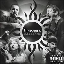 GODSMACK (2 CD) LIVE & INSPIRED *NEW*