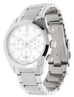 Dugena Premium Herren Armbanduhr Chronograph silber 7090163