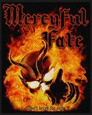 MERCYFUL FATE PATCH / AUFNÄHER # 2 DON'T BREAK THE OATH - 10x8cm