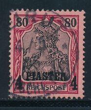 Gestempelte Ungeprüfte Briefmarken aus der deutschen Post in Türkei (bis 1945)