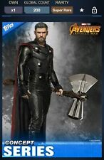 Topps Marvel Collect Avengers Infinity War Concept Series Thor #2 200cc