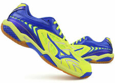 Mizuno FANG SS 2 WIDE Badminton Shoes Unisex Shoe Yellow Blue Indoor 71GA181727