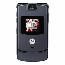Оригинальный Motorola RAZR V3 флип мобильный телефон разблокированный сотовый телефон камера 2G GSM