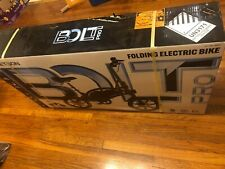 Jetson Bolt Pro folding Electric Ride Bicycle - Black BRAND NEW