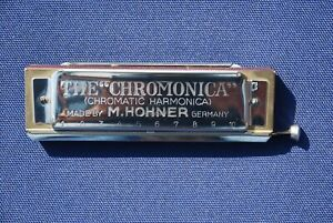 """THE CHROMONICA"" MODEL 260 Key Of  ""C"" HARMONICA"