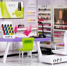 Mi World OPI Nail Salon 2013 NIB rare 23 pieces Toy shop store age 7+