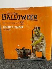 Dept 56 Halloween Village Accessory Tonight'S Special Nib