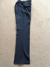 Marks And Spencer school Embroidered Bootleg Trousers Age 7-8 Grey X2 pairs