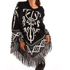 Ärmellose Damen-Pullover & -Strickware mit Karo/Rauten