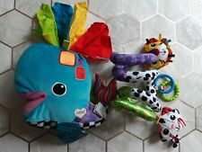 Lamaze Toys Bundle Whale And Pushchair Cot Baby Toddler Activities Sensory Tomy