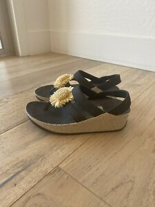 fitflop slingback sandal black size 5