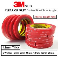 Double Sided Tape Multi Sizes Rolls Sticky Tape Strong 3M Self Adhesive Car Tape
